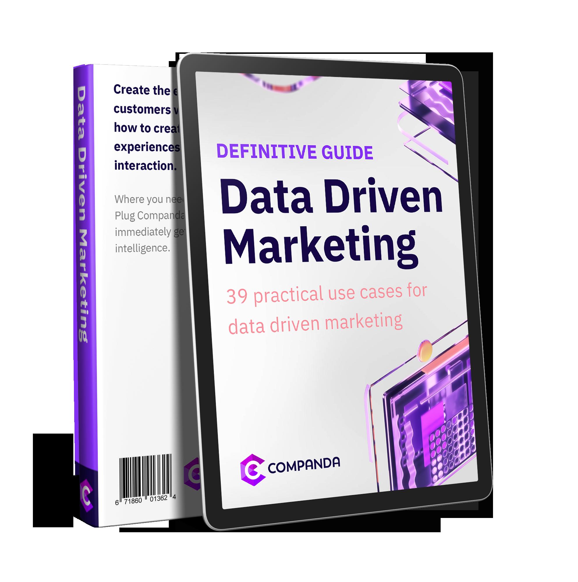 Data Driven Marketing Ebook